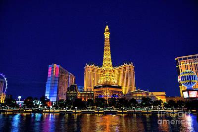 Photograph - Eiffel Tower Nevada by David Arment