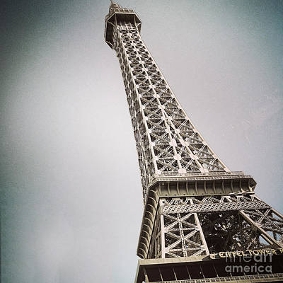 Painting - Eiffel Tower Of Vegas by Gregory Dyer