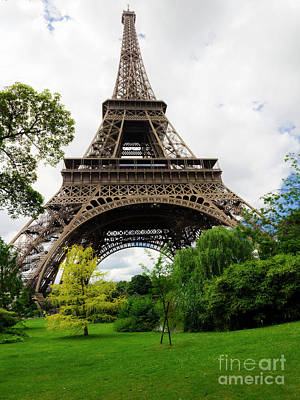 Best Stock Photograph - Eiffel Tower Panaroma by Julian Bowdern