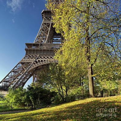 Eiffel Tower Photograph - Eiffel Tower, Paris by David Bleeker