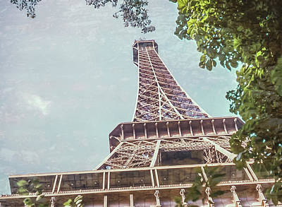 Photograph - Eiffel Tower, Paris, France by Richard Goldman