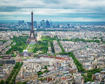 Photograph - Eiffel Tower -paris by Joe Myeress