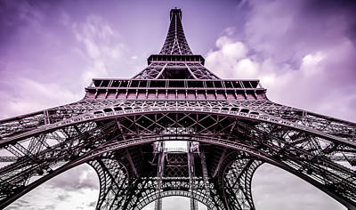 Photograph - Eiffel Tower Paris by Kelvin Trundle