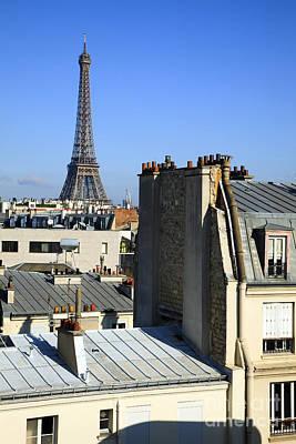 Eifell Tower Photograph - Eiffel Tower Paris by Peter Phipp