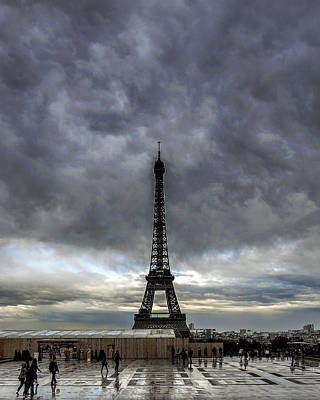 Photograph - Eiffel Tower Paris by Sally Ross