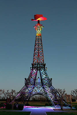 Photograph - Eiffel Tower, Paris Texas by Nicholas Blackwell