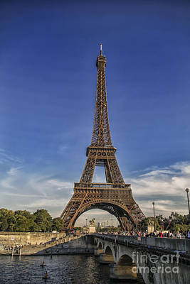 Photograph - Eiffel Tower  by Patricia Hofmeester