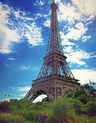 Photograph - Eiffel Tower by Rena Trepanier