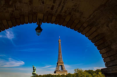 Photograph - Eiffel Tower Revealed by Kim Wilson