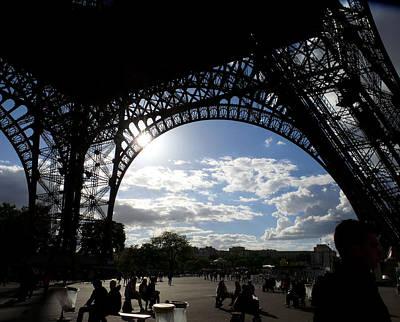 Painting - Eiffel Tower Sky by Rosie Brown
