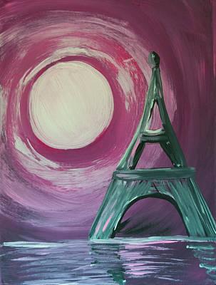 Tina Turner - Eiffel Tower Sunset by Aaron Geraud