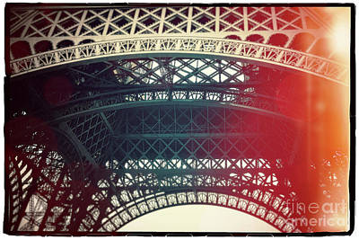 Eiffel Tower Tour Eiffel. Paris. France. Europe. Art Print