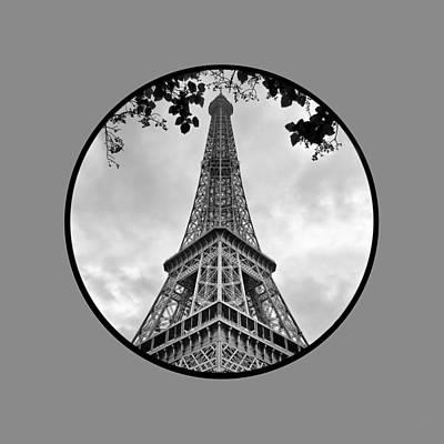 Photograph - Eiffel Tower - Transparent by Nikolyn McDonald