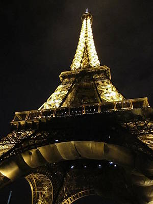 Photograph - Eiffel Tower Vii Paris France by John Shiron