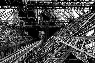 Photograph - Eiffel Tower by M G Whittingham