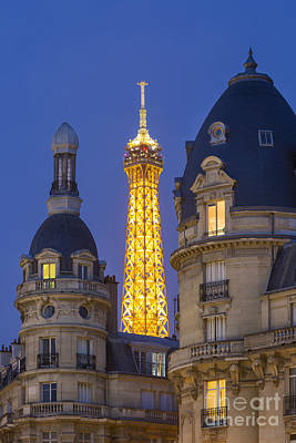 Photograph - Eiffel View From Passy by Brian Jannsen