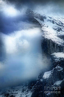 Photograph - Eiger North Face by Scott Kemper