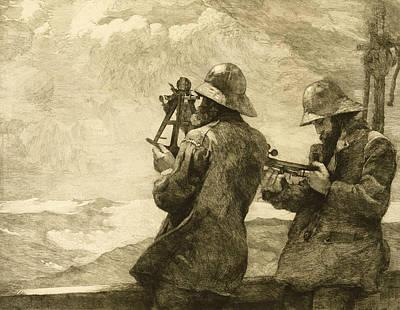 Eight Bells Art Print by Winslow Homer