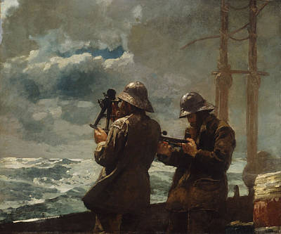 Painting - Eight Bells by Winslow Homer