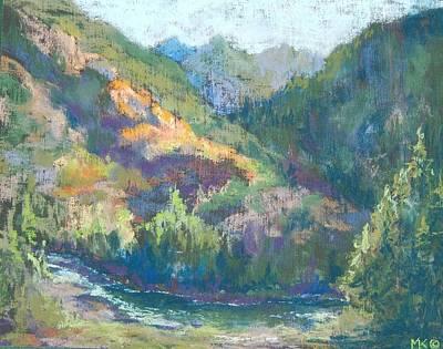 Painting - Eight Mile Mountain by Marlene Kingman