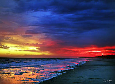 Beaufort County Photograph - Eight Minutes On The Beach by Phill Doherty