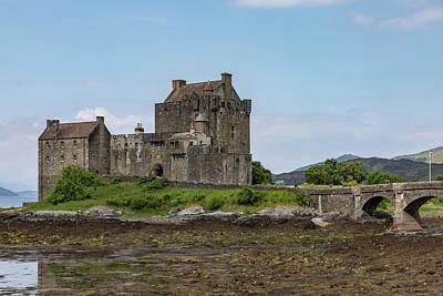 Bringing The Outdoors In - Eilean Donan Castle 0574 by Teresa Wilson
