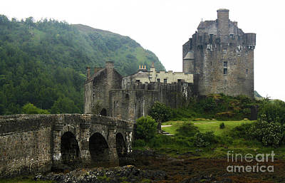 Photograph - Eilean Donan Castle 13th Century Medieval Castle by Gregory Dyer