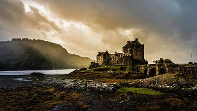 Photograph - Eilean Donan Castle by Andy Beattie Photography
