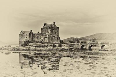 Castle Photograph - Eilean Donan Castle by Chris Thaxter
