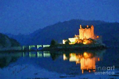 Photograph - Eilean Donan Castle by Diane Macdonald
