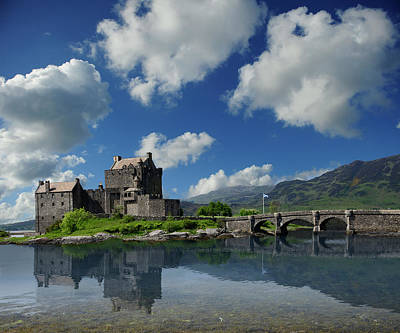 Photograph - Eilean Donan Castle by Don and Bonnie Fink