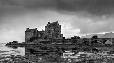 Catch Of The Day - Eilean Donan Castle by Henk Meijer Photography