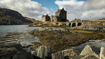 Sports Illustrated Covers - Eilean Donan Castle by Holly Ross