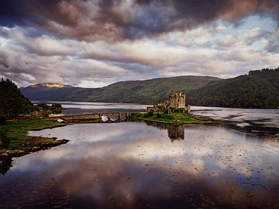 Photograph - Eilean Donan Castle by Ian Good