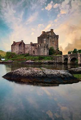 Photograph - Eilean Donan Castle by Jaroslaw Blaminsky
