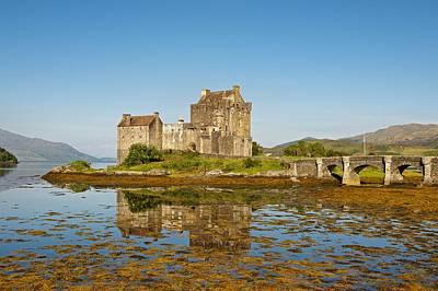 Photograph - Eilean Donan Castle Reflections by Stephen Taylor