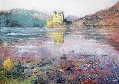 Painting - Eilean Donan Castle  by Richard James Digance