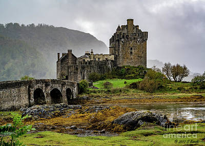 Photograph - Eilean Donan Castle by Sue Karski