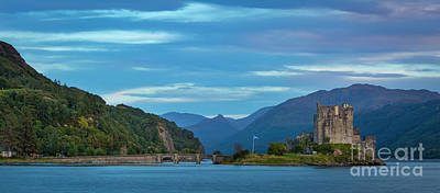 Photograph - Eilean Donan Evening II by Brian Jannsen
