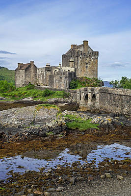 Photograph - Eilean Donan, Scottish Highlands by Arterra Picture Library