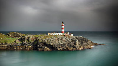 Photograph - Eilean Glas Lighthouse by Grant Glendinning
