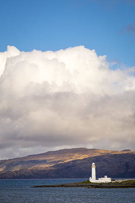 Photograph - Eilean Musdile Lighthouse On Lismore by Neil Alexander