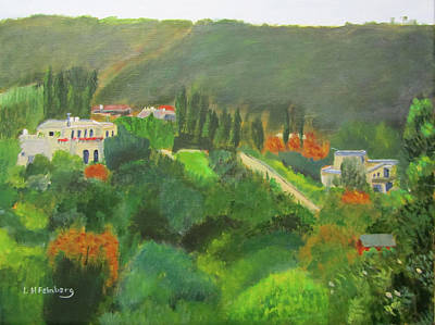 Painting - Ein Hod View by Linda Feinberg