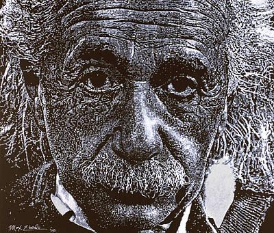 Theory Of Relativity Painting - Einstein by Max Eberle