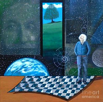 Painting - Einstein's Dream by John Lyes