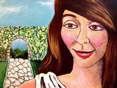 Painting - Eirene Goddess Of Peace by Katerina Roy