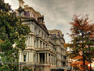 Kevin Hill Photograph - Eisenhower Building by Kevin Hill