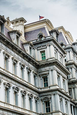 Photograph - Eisenhower Building by SR Green