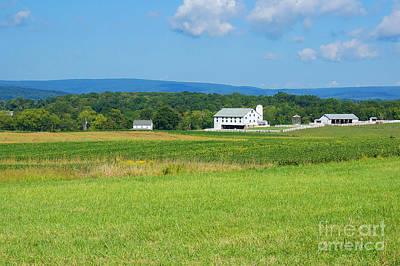 Photograph - Eisenhower Farm, Gettysburg by Traci Law