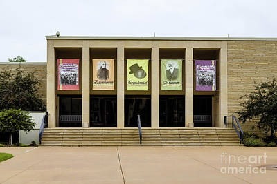 Photograph - Eisenhower Library by Jon Burch Photography